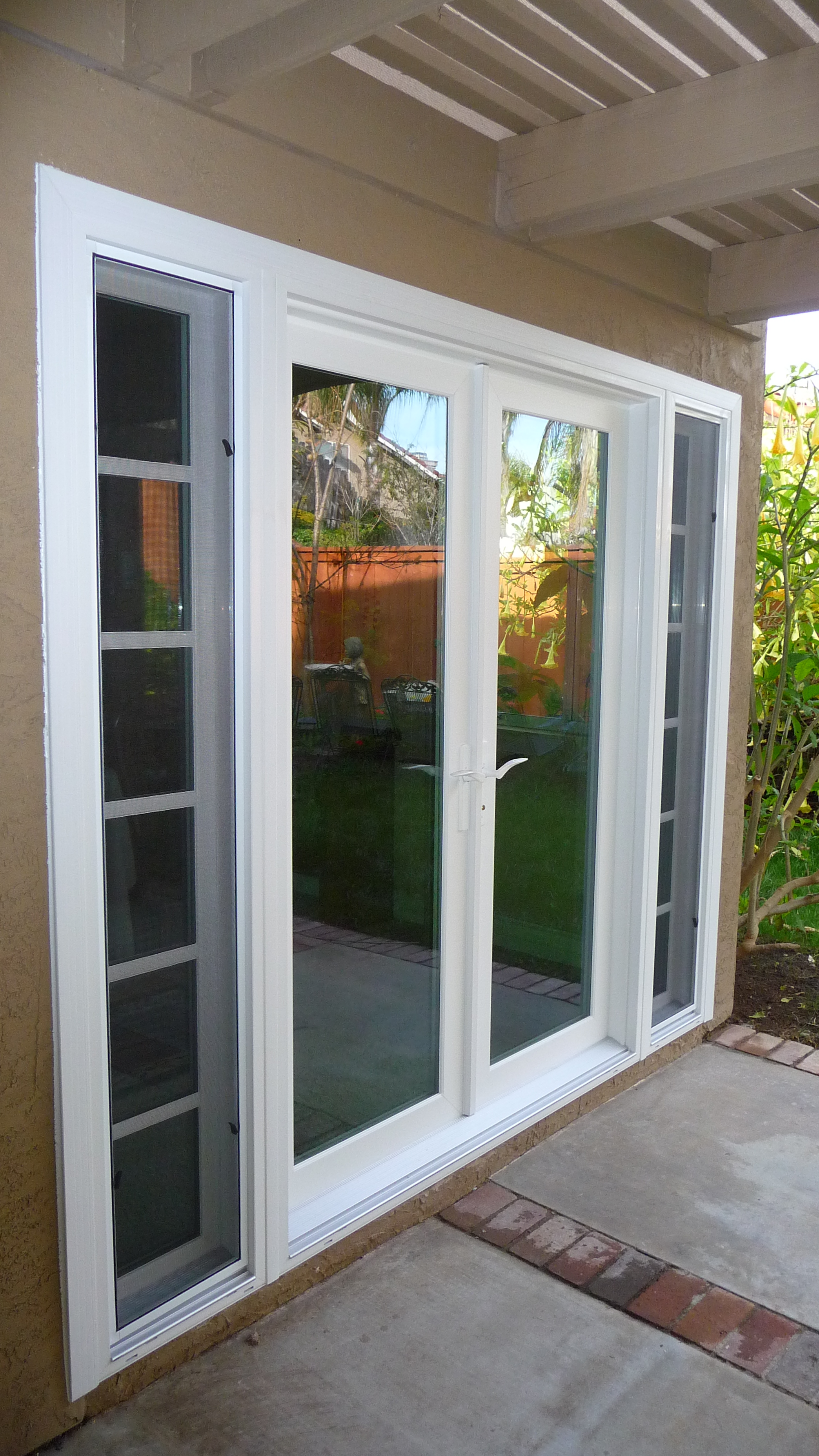 3712 #8E883D French Doors Patio Sidelites Coughlin Windows And Doors pic Patio Doors With Side Windows 44912088