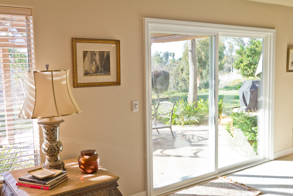 Exterior Sliding Glass Door sliding glass patio door poway | coughlin windows and doors